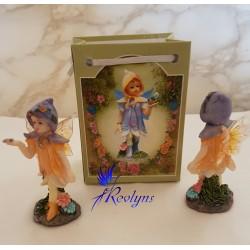 Adorables mini fées capuche violette