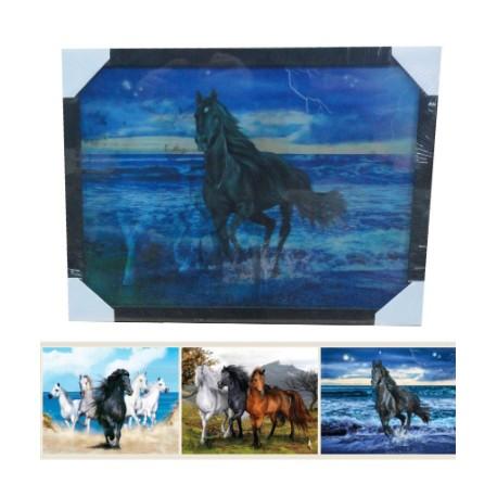 Tableaux holographiques animaux