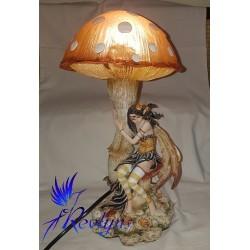 Lampe fée champignon