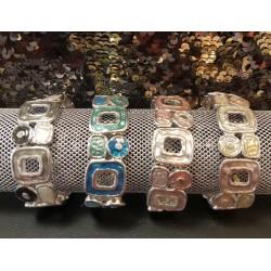 Bracelet Métal/Email 4M
