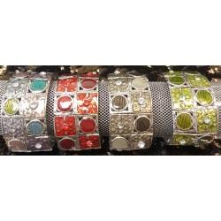 Bracelet Métal/Email 2M
