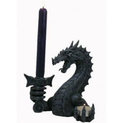 Dragon porte bougie
