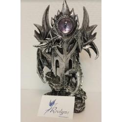 Figurine Dragon et l'oeil violet