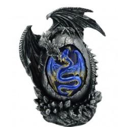 Figurine Dragon et oeuf lumineux