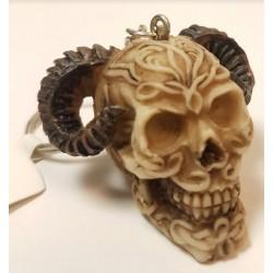 Porte clés crâne bélier