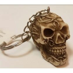Porte clés crâne
