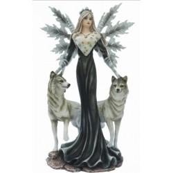 Figurine Fée aux loups