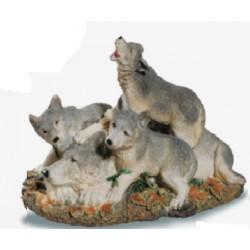 Loups en famille