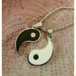 Collier double yin-yang