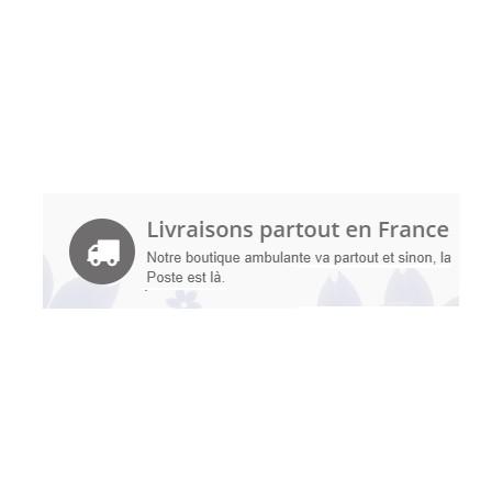 Frais de port - Avec suivie poste France
