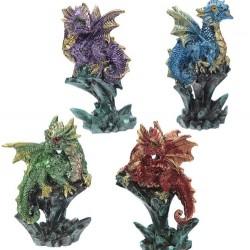 Dragon de couleur