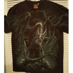 T-shirt -   dragon nocturne