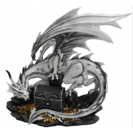 Dragon blanc et son trésor